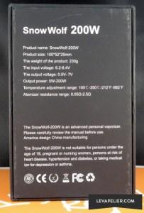 Asmodus Snow Wolf 200 box