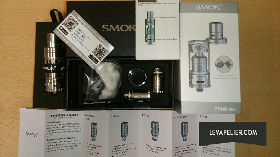 smok TFV4 mini package
