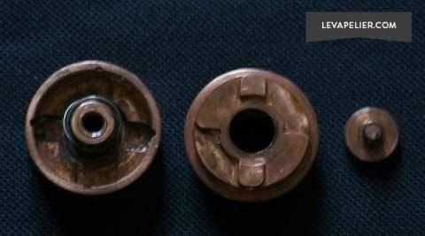 Kurgan bottom cap and parts