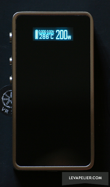 Snow Wolf 20W Asmodus front panel