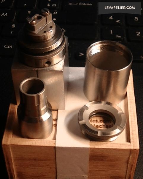 Atomizer Tube démonté