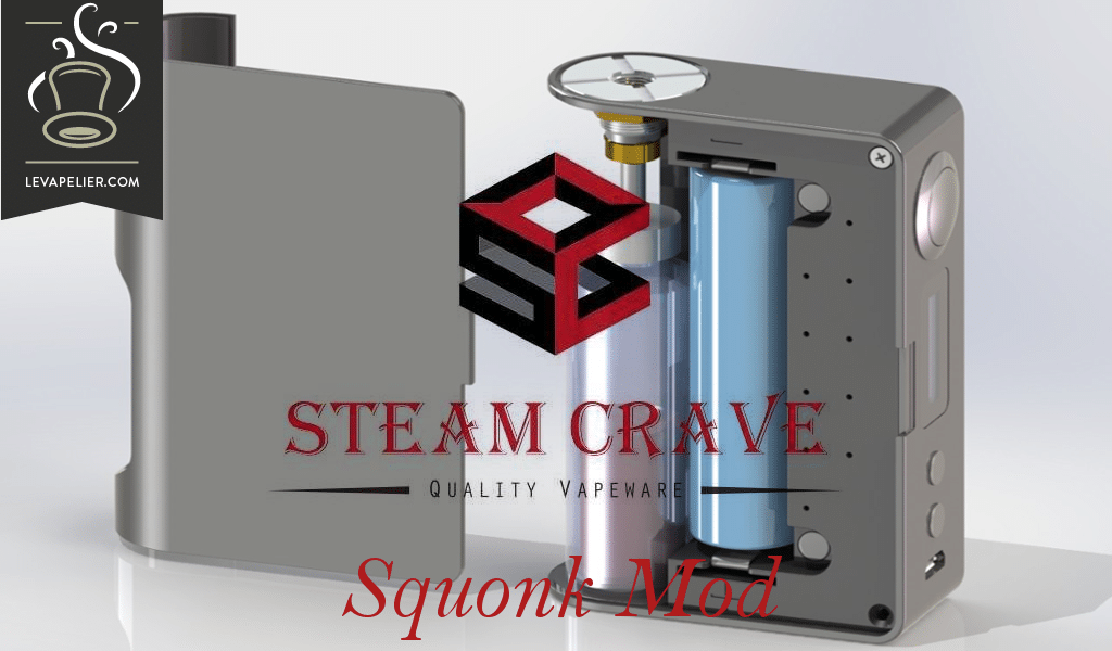 Squonk Mod by Steam Crave