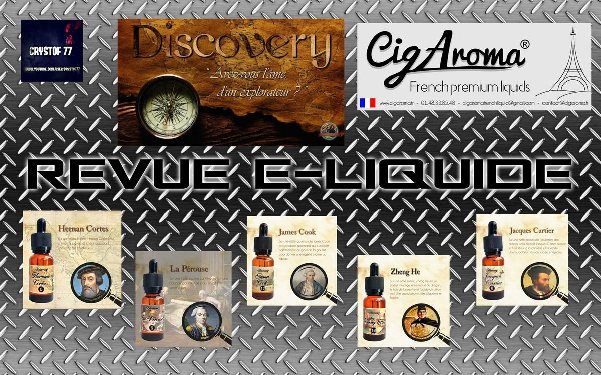 Discovery par Cigaroma [VapeMotion]