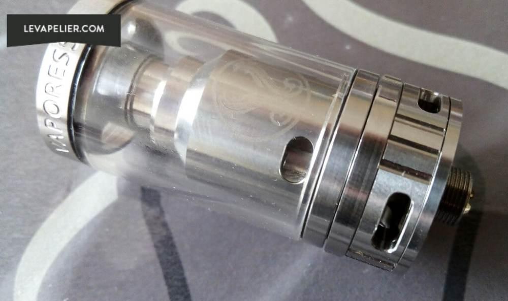 Gemini vaporesso flusso d'aria