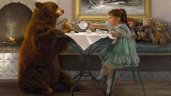 kleindochter naar bear-Lynn-Lupetti