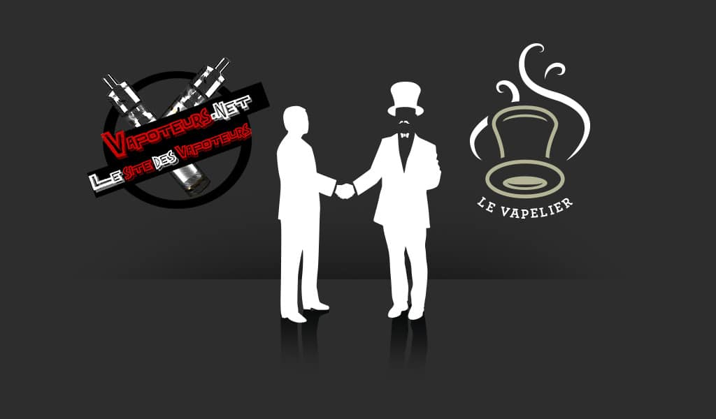 The Vapelier e Vapoteurs.Net incrociano le loro offerte
