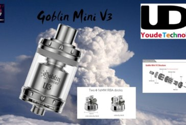 Goblin Mini V3 by UD by Youde [VapeMotion]