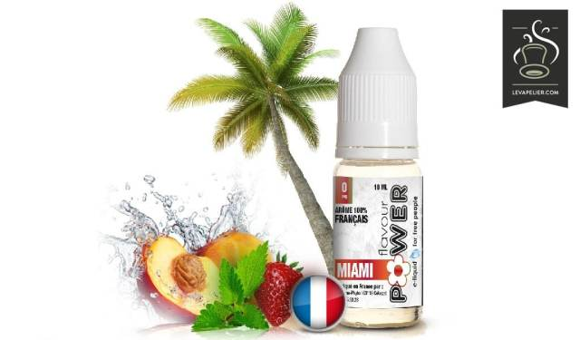 MIAMI gamme 50/50 par Flavour Power