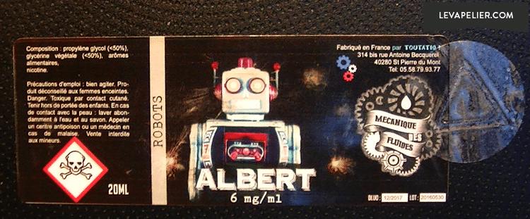 albert-label