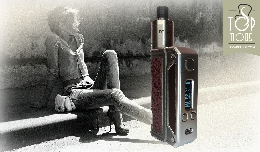 Kit Box Therion BF 75W et Dripper BF Delirium par Lost vape