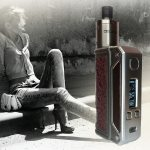 Box Therion BF 75W Kit en druppelaar BF Delirium door Lost vape