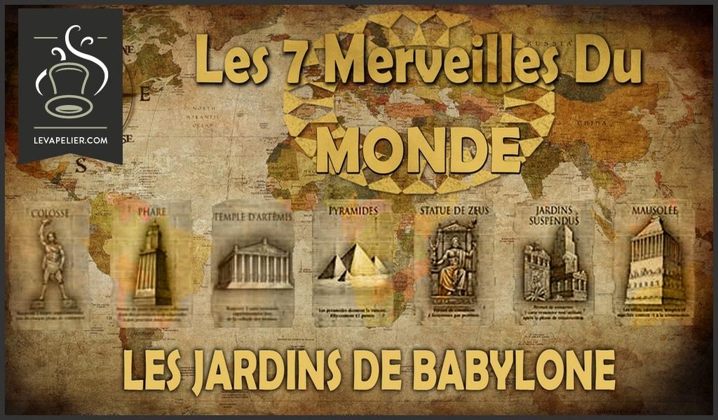 I GIARDINI DI BABYLONE (RANGE THE WONDERFUL 7 OF THE WORLD) di INFINIVAP