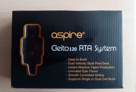 "מערכת RTA ""ASPIRE CLEITO 120"" [VapeMotion]"