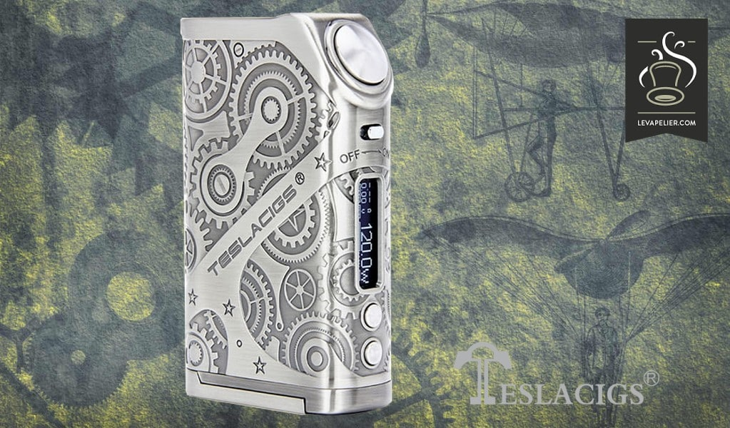 Box Nano Steampunk 120W by Teslacigs