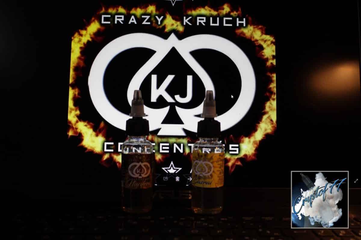 Basrai & Nucifera (concentré Diy) par Crazy Kruch [VapeMotion]