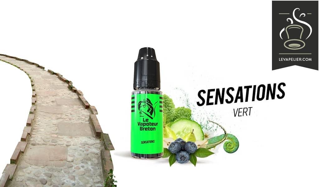 Vert ( Gamme Sensations ) par Le Vapoteur Breton