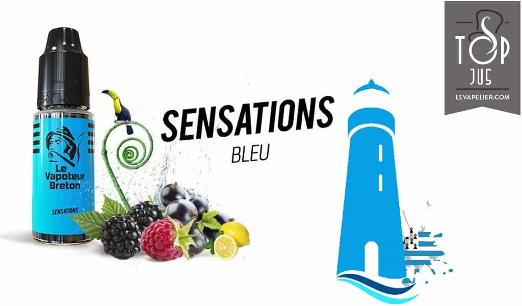 Bleu (Gamme Sensations) par Le Vapoteur Breton