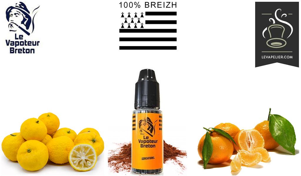 Orange (sensations range) by Le Vapoteur Breton