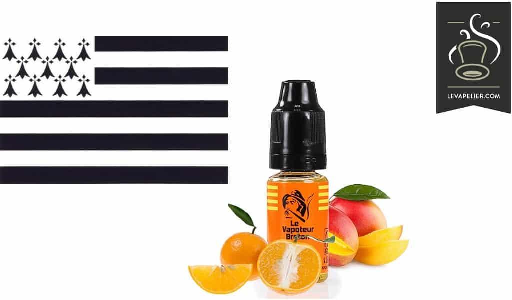 Orange-Mangue (Gamme Duo Sensations) par Le Vapoteur Breton