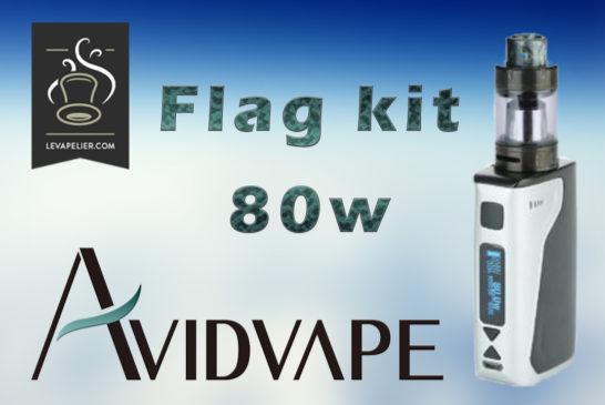 Flag 80W KIT par Avidvape