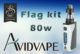 Markeer 80W KIT door Avidvape
