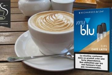 Koffie latte door blu