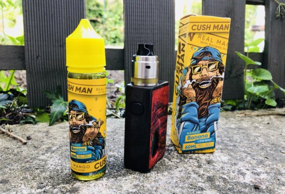 Cush Man mango banana por Nasty Juice [Prueba de flash]