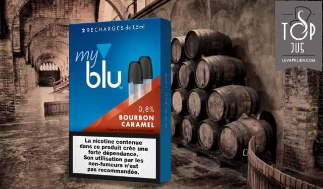 Bourbon Caramel (Gamme myblu) par blu
