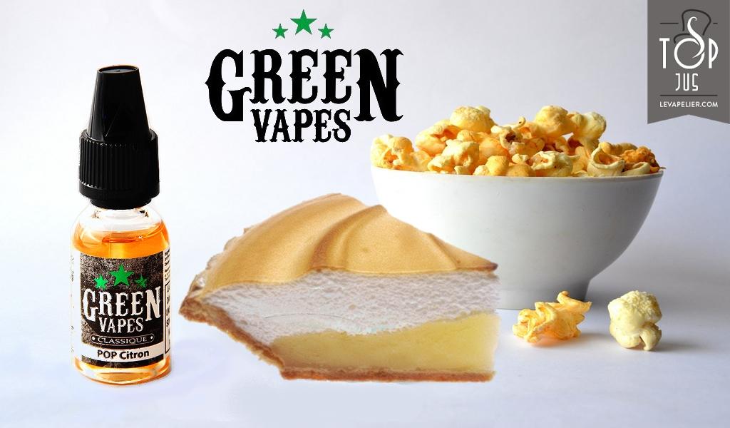 Lemon Pop (Classic Range) by Green Vapes