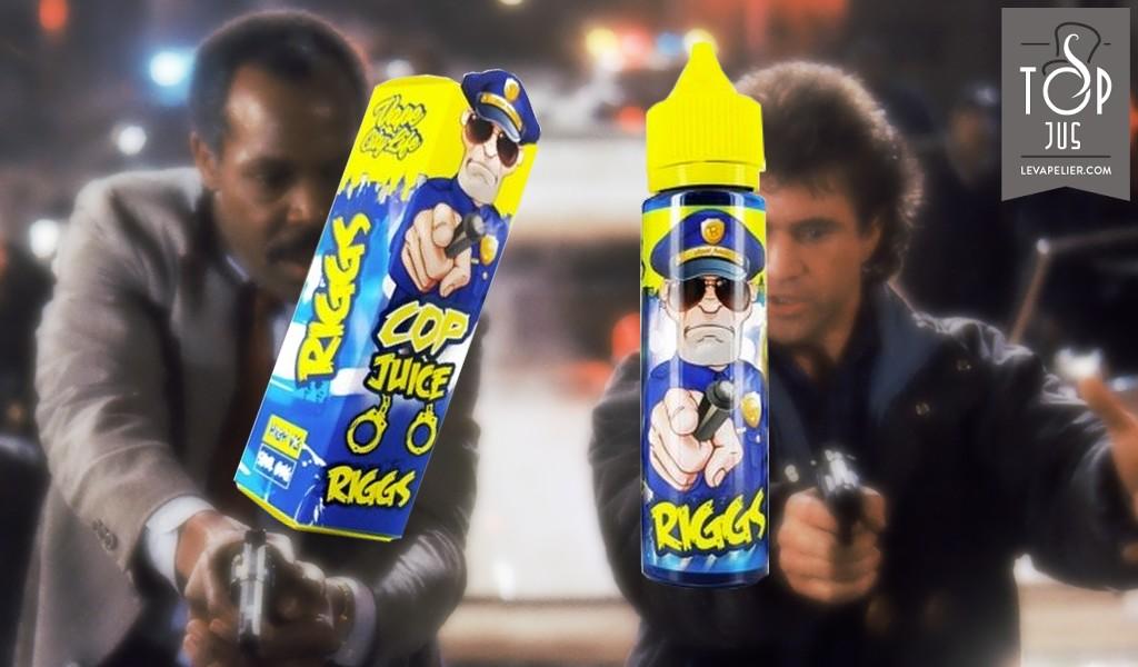Riggs (Gamme Cop Juice) par Eliquid France
