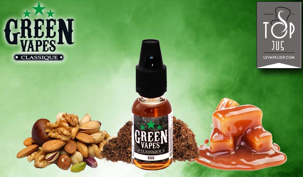 555 (Gamme Green Vapes) par Green Liquides
