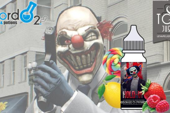 George Clowney (Gamme Hold Up Concentré) par BORDO2