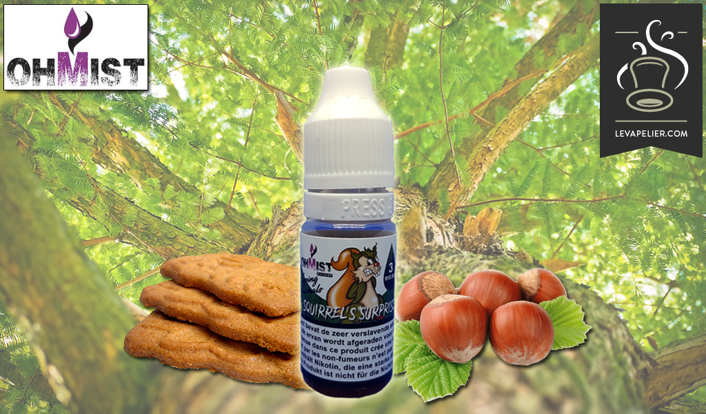 Squirrel's Surprise (Gamme Vaping Animals) par OhMist