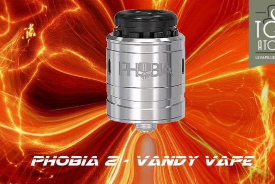 Phobia V2 RDA par Vandy Vape