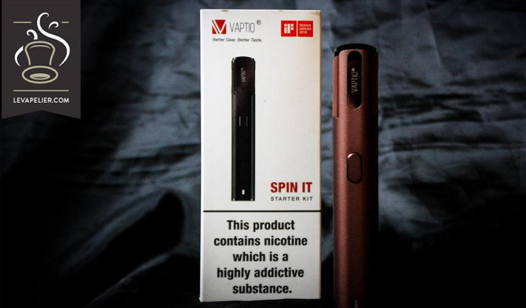 SPIN IT Starter Kit Vaptio par Vaptio