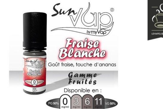 Fraise Blanche (Gamme Sunvap) par Myvap