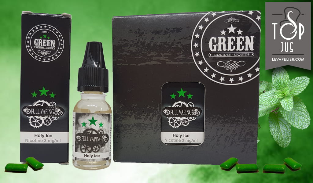 Holy Ice (Gamme Full Vaping) par Green Liquides