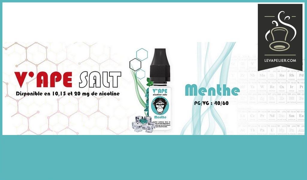Menthe (V'APE SALT) par V'APE