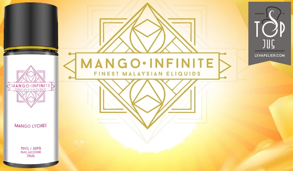 Mango Lychee par Mango Infinite – My's Vaping