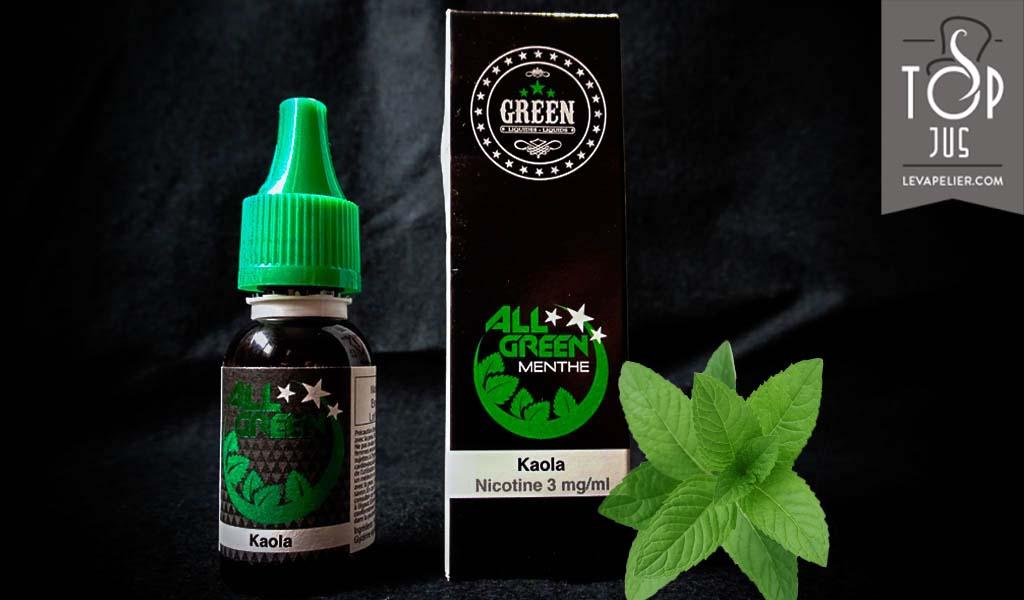 Kaola (All Green Range) de Green Liquides