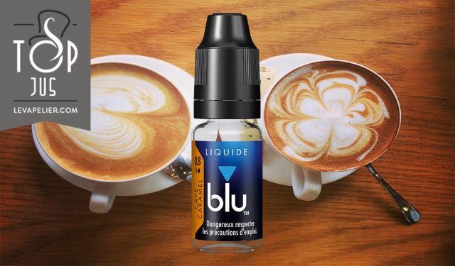 蓝莓焦糖咖啡