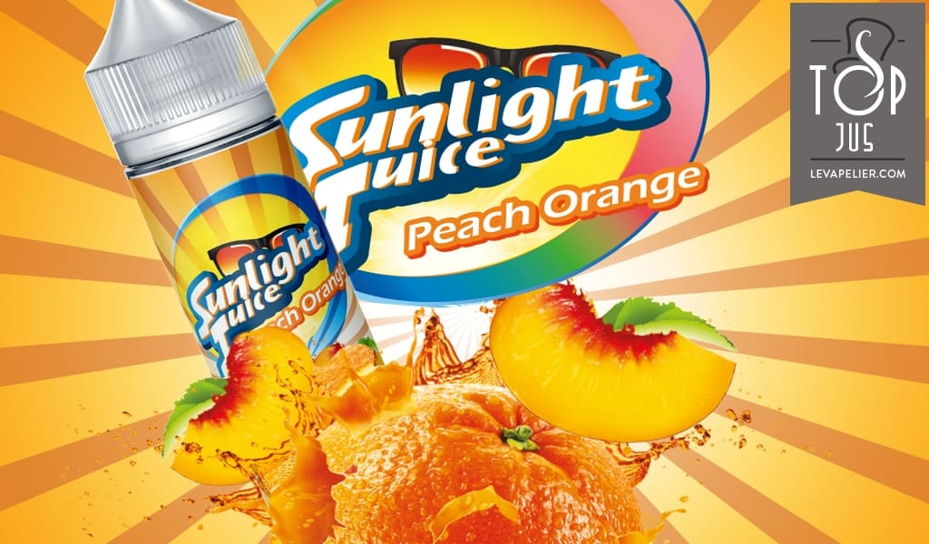 Peach Orange van Sunlight Juice