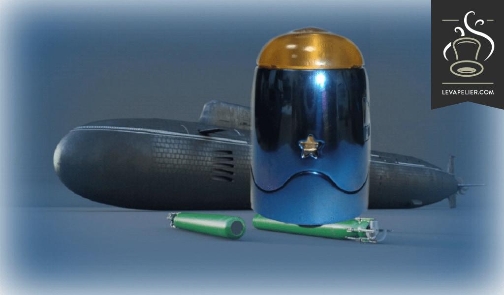 """עב""""ם V1.5 RDTA פצצה על ידי SerisVape"""
