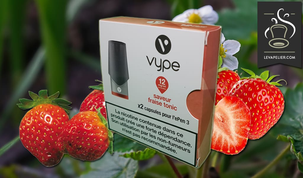 Strawberry Tonic by VYPE