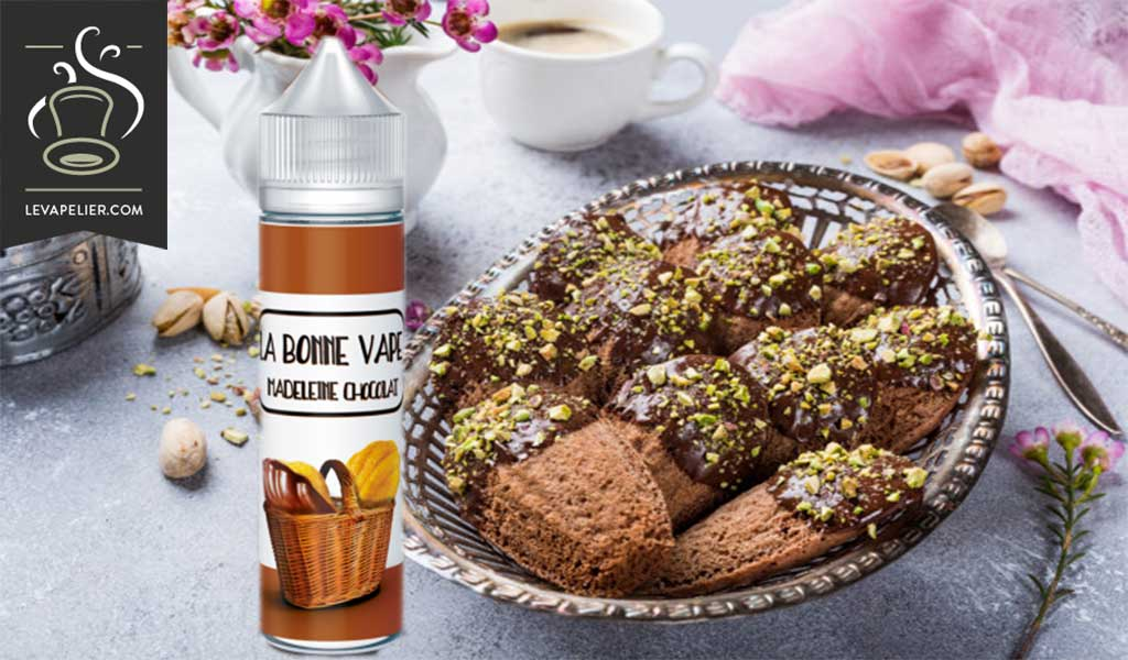 美国Vaping的Madeleine Chocolat(The Good Vape Range)