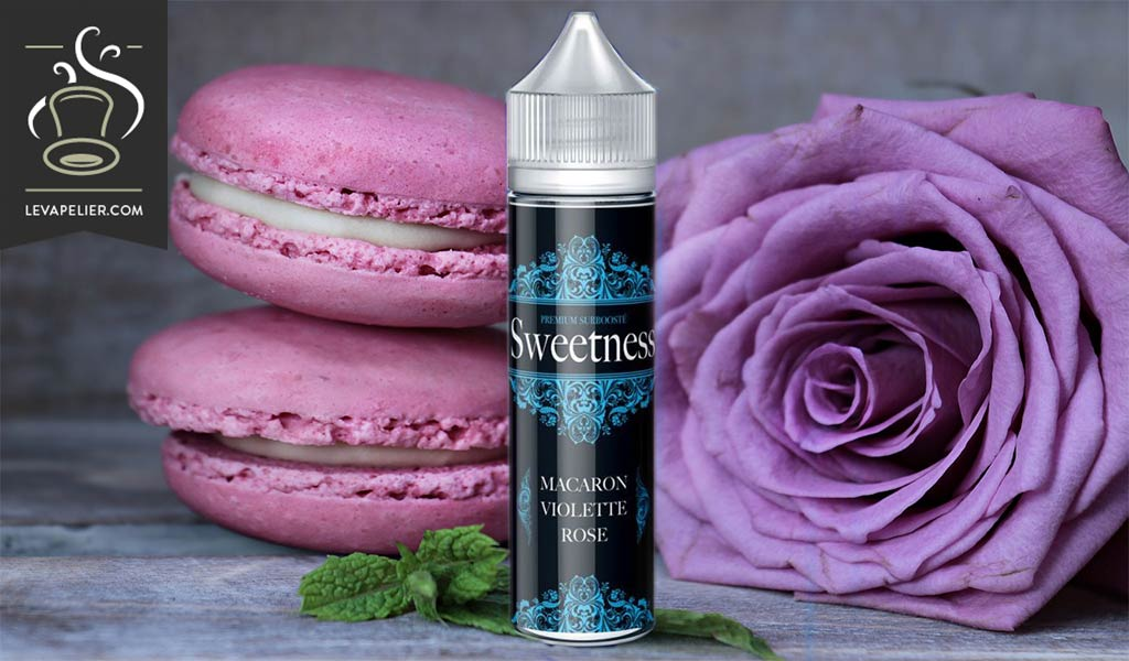 Purple Rose Macaroon (Sweetness Range) van Made in Vape