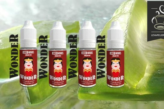 Wonder (Gamme Juice Heroes) par Liquideo