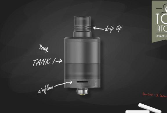 Precisio RTA Black Carbon by BD Vape