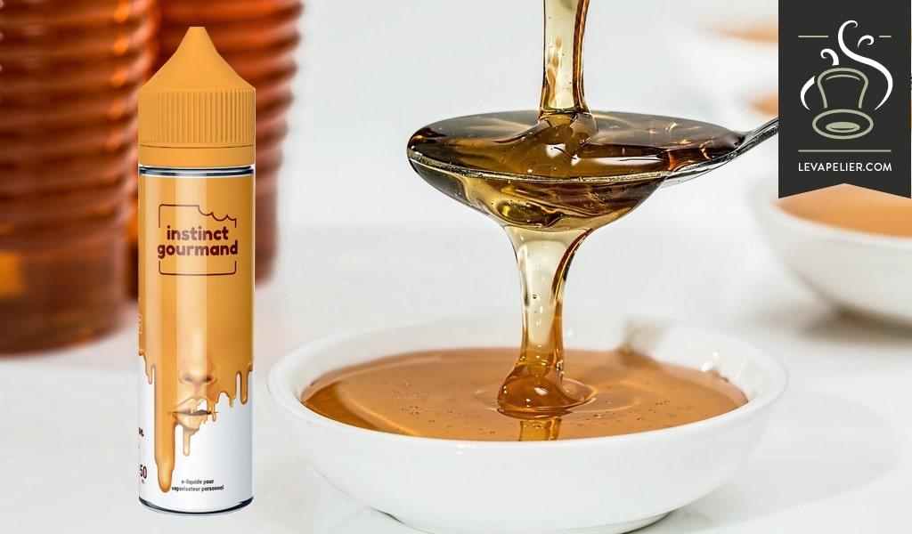 Honey Milk (Gamme Instinct Gourmand) par Alfaliquid