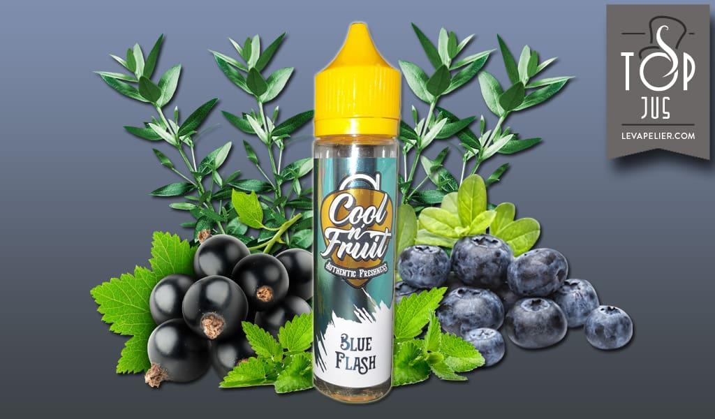 Blue Flash (Gamme Cool n'Fruit) par Alfaliquid